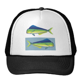 Dolphin Fish Trucker Hat