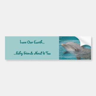 Dolphin Friend Love Bumper Sticker
