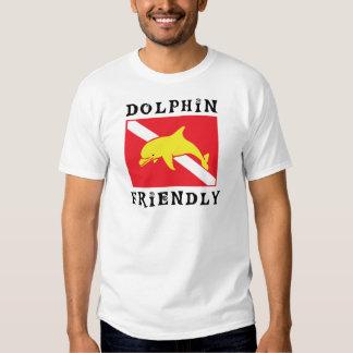 Dolphin Friendly Diver Down Flag T-shirt