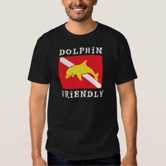 Dolphin Friendly Diver Down Flag Tshirts