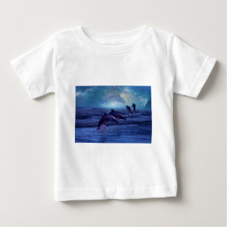 Dolphin fun and play baby T-Shirt