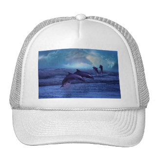 Dolphin fun and play trucker hat