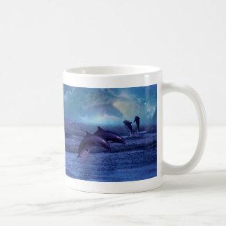 Dolphin fun and play coffee mugs