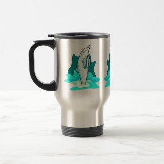 Dolphin Fun mug