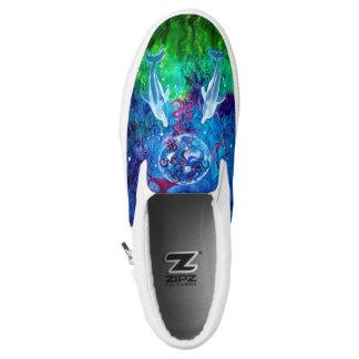 Dolphin Gaze Zipz Slip On Shoe