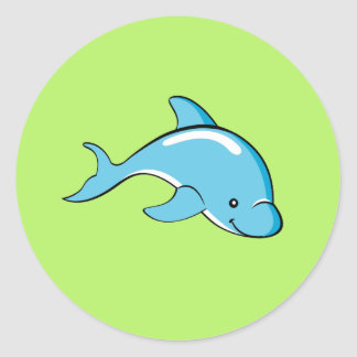 Dolphin Gifts Classic Round Sticker