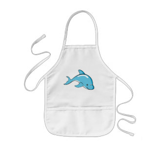 Dolphin Gifts Kids' Apron