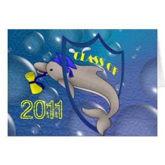 Dolphin Grad Card