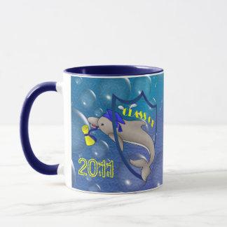 Dolphin Grad Mug