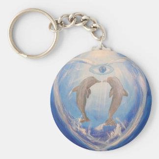 Dolphin Harmony Keychain