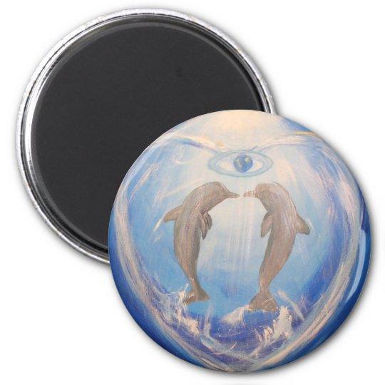 Dolphin Harmony Magnet
