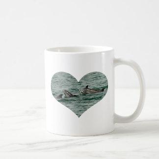 Dolphin Heart Mug