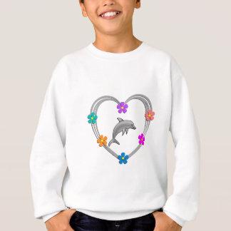 Dolphin Heart Sweatshirt