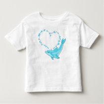 Dolphin Heart Toddler T-shirt