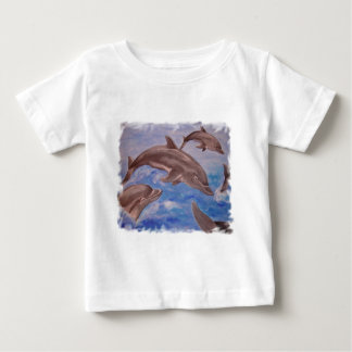 Dolphin High Five Baby T-Shirt