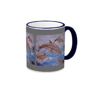 Dolphin High Five Mug