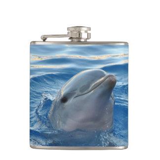 Dolphin Hip Flask