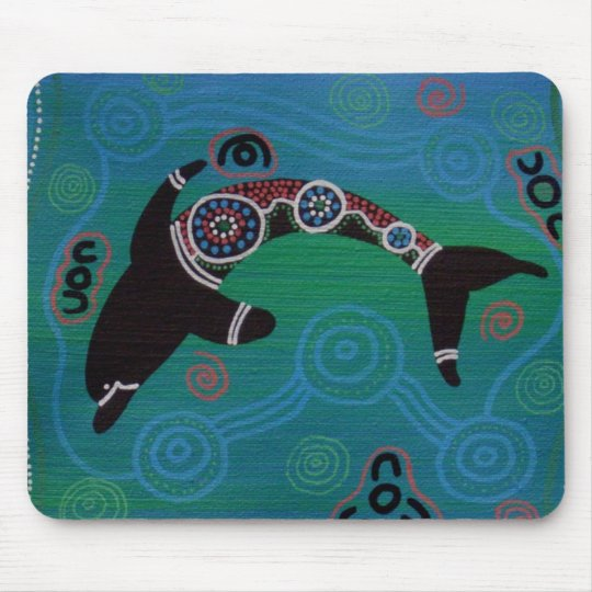 Dolphin I Mouse Mat