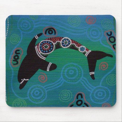 Dolphin I Mouse Mat Mousepad