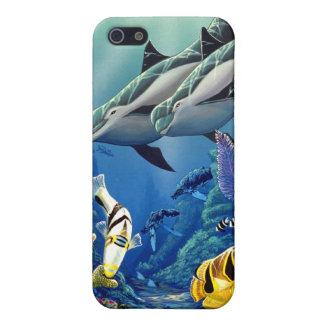 """Dolphin Illumination"" Case For iPhone SE/5/5s"