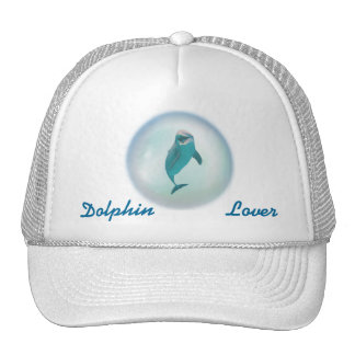 Dolphin In A Bubble Hats