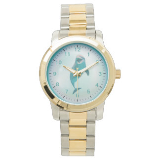 Dolphin in a Pearl Watch