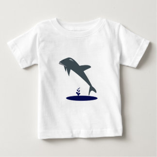 Dolphin In Air Graphic Tee