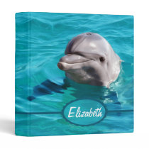 Dolphin in Blue Water Photo Binder