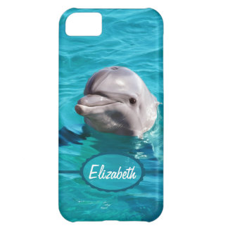Dolphin in Blue Water Photo Case For iPhone 5C