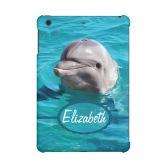 Dolphin in Blue Water Photo iPad Mini Covers