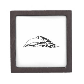 Dolphin in Flames Jewelry Box