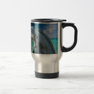 Dolphin in the Bahamas Travel Mug