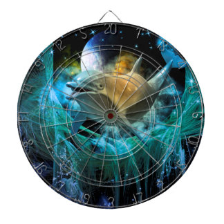 Dolphin in the universe dartboards