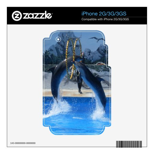 Dolphin  iPhone 2G/3G/3GS Skin For iPhone 3G