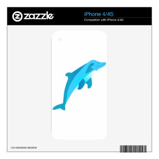 Dolphin iPhone 4 Decals