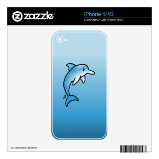 Dolphin iPhone 4 Skins