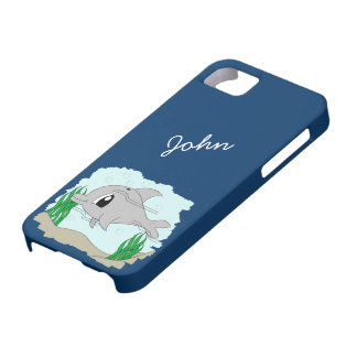Dolphin iPhone 5 Cover Template