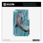DOLPHIN iPod TOUCH 4G DECAL