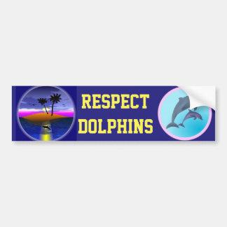 Dolphin Island bumper sticker
