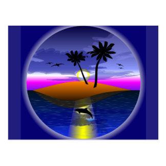 Dolphin Island postcard
