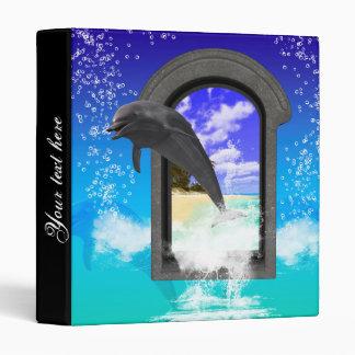 Dolphin jumping vinyl binders