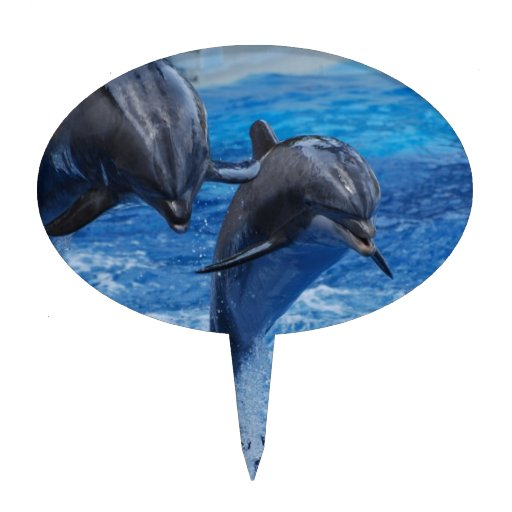 Dolphin Jumping Cake Topper