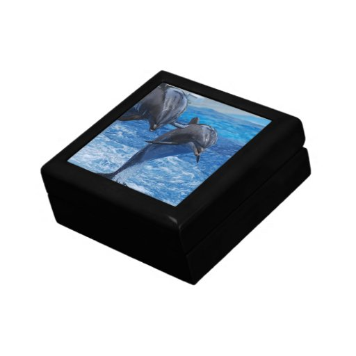 Dolphin Jumping Gift Box