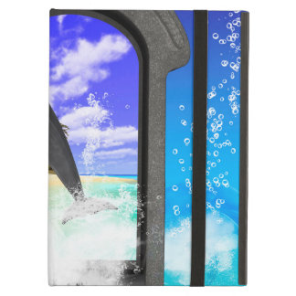 Dolphin jumping iPad air case