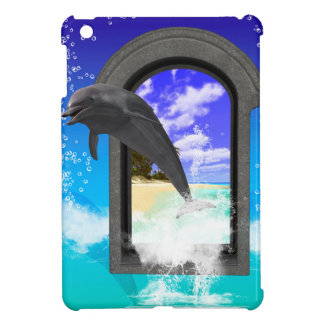 Dolphin jumping case for the iPad mini