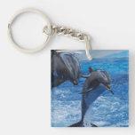 Dolphin Jumping Keychain Acrylic Keychains