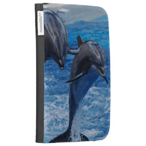 Dolphin Jumping Kindle Case
