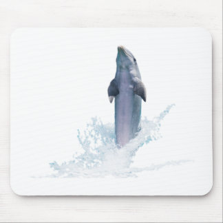 Dolphin Jumping Mouse Pad