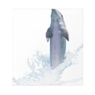 Dolphin Jumping Notepad