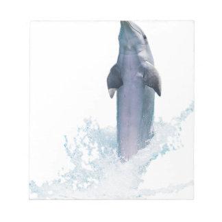 Dolphin Jumping Notepad